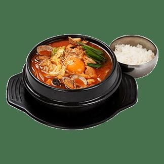 韓国スンドゥブラーメン